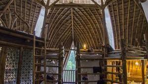 Bamboo Workshop Bambushäuser bauen Bali