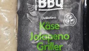 Kaufland K-Classic Let's Käse Jalapeño Griller