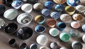 Reisschalen, Ramenschüsseln Teller: meine Geschirrsammlung