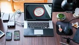 Tipps mehr Ordnung Home Office