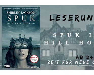 Leserunde | Spuk in Hill House