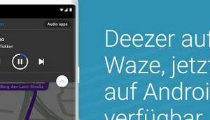 Neue Waze Navi-Stimme Khaled präsentiert Deezer