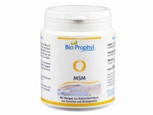 MSM – Natürlicher Schwefel für Ihren Körper