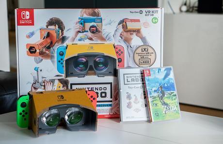 Nintendo Switch Labo VR-Kit + GEWINNSPIEL