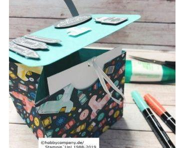 Tasche basteln als Geschenkverpackung