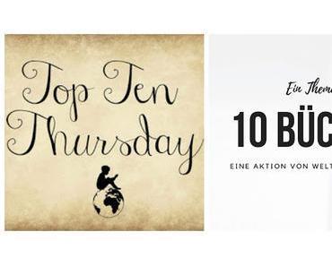TTT # 420 | Deine 10 schönsten Bücher mit einem vorwiegend gelben Cover