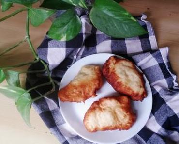 Frittelle mit Feta und Lauchzwiebeln [vegetarisch]