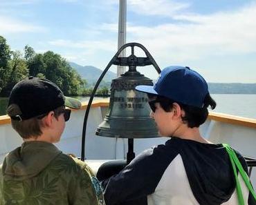 Schiff ahoi: Von Rapperswil über die Insel Ufenau nach Zürich