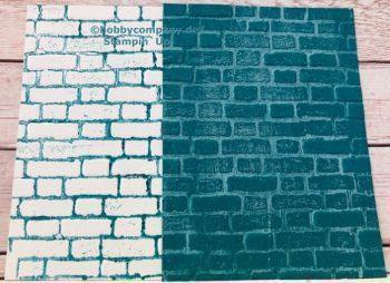 Prägeform Mauerwerk von Stampin`Up!