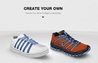 Schuhe selbst designen bei K-Swiss