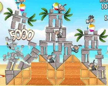 "Sommer, Sonne, Strand: 30 neue Levels für ""Angry Birds Rio"" (& HD)"