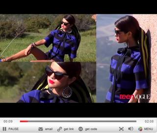 """Selena Gomez im Interview für """"Teen Vogue"""""""