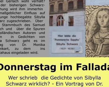 Wer schrieb die Gedichte von Sibylla Schwarz wirklich?