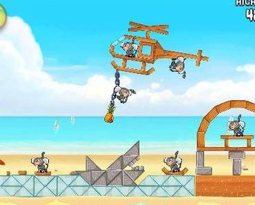 "Angry Birds Rio: Walkthrough-Videos für die neuen ""Beach Volley""-Levels"