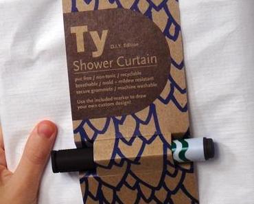DIY: Duschvorhang