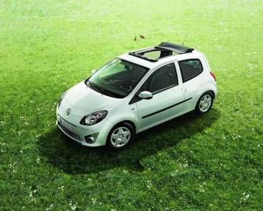 Renault Twingo jetzt mit Faltschiebedach