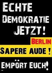 Empört Euch! BerlinerInnen!