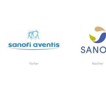 Sanofi-Aventis mit neuem Logo