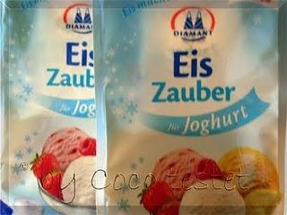 Joghurt-Eis mit Diamant Eis-Zauber