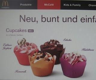 Cupcake von Mc Donald's