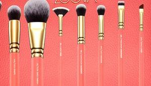 ZOEVA Coral Shine Brush Pinselset