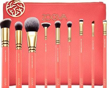 ZOEVA Coral Shine Brush Set Pinselset