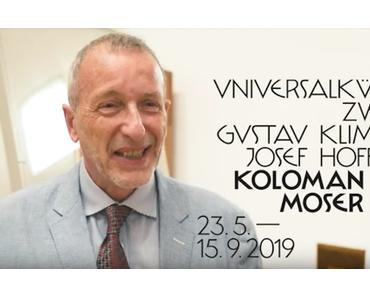 100 Sekunden über die Ausstellung Koloman Moser