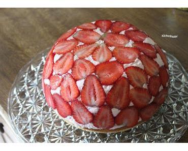 Erdbeer-Kuppel-Torte