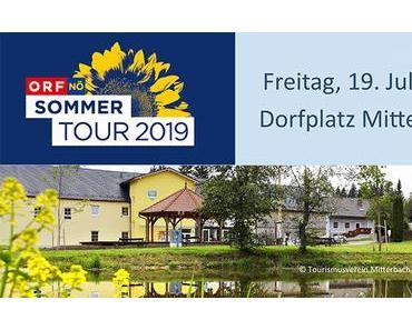 ORF-NÖ Sommertour in Mitterbach am Dorfplatz
