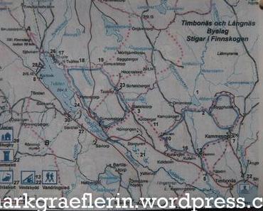 Urlaub in Schweden – Wanderung auf dem Abborrtjärns Rundan