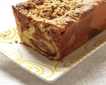 Marmorkuchen mit Schokolade, Tahin und Halva –  mit einem Rezept für Sesam-Halwa