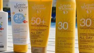 Sommer Meer geschützt Louis Widmer