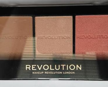 [Werbung] Makeup Revolution Ultra Sculpt & Contour Kit  Ultra Fair C01