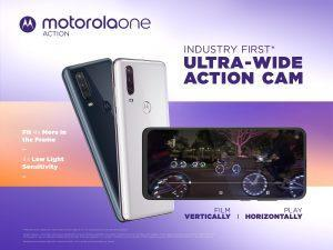 Motorola Action Smartphone Actionkamera