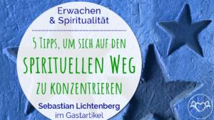 Tipps, sich spirituellen konzentrieren