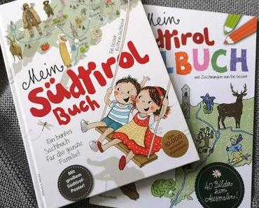 Unser Buchtipp für kleine und große Entdecker: Mein Südtirol-Buch // Malbuch & Verlosung