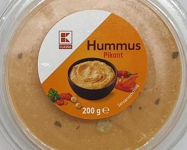 Kaufland - K-Classic Hummus pikant