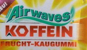 [Werbung] Airwaves Frucht Koffein Kaugummis