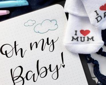 DIY Schwangerschafts-Tagebuch (Bullet Journal): Oh my Baby! | PILOT Pen FriXion*