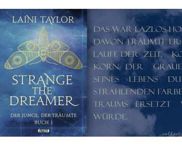 """""""Strange the Dreamer - Der Junge, der träumte (Buch 1)"""""""