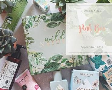 Pink Box - September 2019 - unboxing