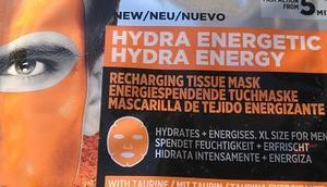 [Werbung] L'ORÉAL PARIS EXPERT Hydra Energy energiespendende Tuchmaske