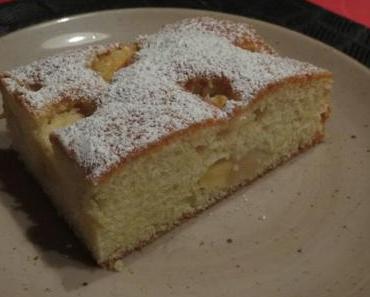 Apfel-Nashi-Kuchen – reloaded