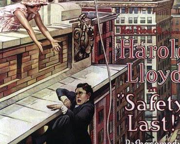 Filme zum Anschauen: Safety Last (Ausgerechnet Wolkenkratzer, USA 1923)