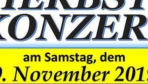 Termintipp: Herbstkonzert MV-Aschbach 2019