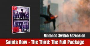 Review: Saints Row: Third Full Package Nintendo Switch
