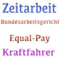 """BAG: """"Equal-Pay-Grundsatz"""" und Zeitarbeit"""