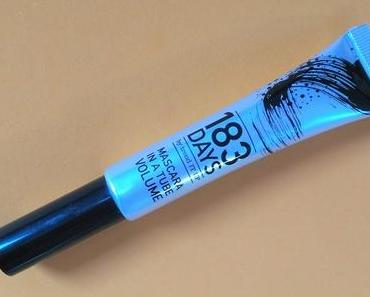 [Werbung] 183 DAYS Mascara in a Tube Volume + Laura Nagellackentferner acetonfrei