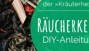 Wertvolle Tipps Kräuterhexe ihrem Kräutergarten: Räucherkegel