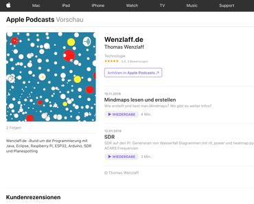 Podcast auch im Apple-Store verfügbar – Neue Folge zum Thema: Mindmap